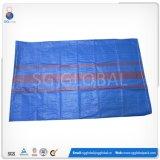 Saco tecido PP azul por atacado da grão 50kg
