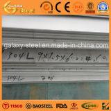 Plaque d'acier inoxydable de SUS304L