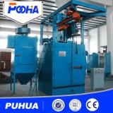 Industrielle hakenförmige Granaliengebläse-Maschine für feste quadratische Reinigung