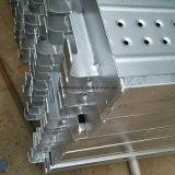 Scheda di alluminio/dell'acciaio della camminata con l'amo per l'operaio di costruzione