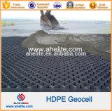 チャネルの保護地上安定腐食制御HDPEのプラスチックGeocell