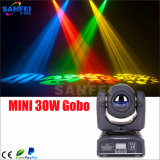 Mini indicatore luminoso capo mobile del Gobo del LED 10W