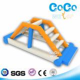 Obstáculo inflable de la escala del diseño del agua de los Cocos (LG8081)