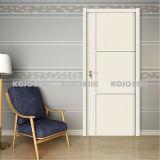 Nueva puerta cortafuego sólida compuesta de madera plástica material (YM-076)