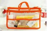 Sacs en plastique clairs bon marché personnalisés réutilisables d'étalage
