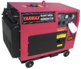Diesel van Yarmax Geluiddichte Generator met Ce 6kVA