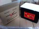 bateria de carro ácida de Freelead da manutenção de 57531mf 12V75ah