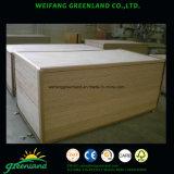 la película de papel de 2.5m m hizo frente a la madera contrachapada Grooved para la decoración