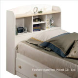 Kids White Wood Captain's 4 Piece Bedroom Set