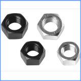 高品質の黒いカラー炭素鋼の十六進ナット