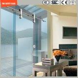 Регулируемое стекло рамки 6-12 нержавеющей стали & алюминия Tempered сползая просто комнату ливня, кабина ливня, ванная комната, экран ливня, дверь приложения ливня