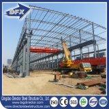 Magazzino prefabbricato galvanizzato della costruzione della struttura dell'acciaio per costruzioni edili