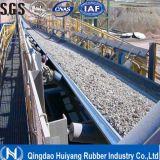 Bande de conveyeur en caoutchouc de polyester de PE