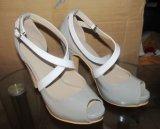 Nuevas sandalias de las mujeres de la manera de la colección (HCY02-1633)