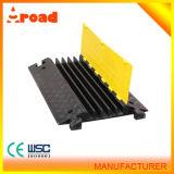 Cruz de goma del protector del cable de los recursos de la seguridad de tráfico con CE