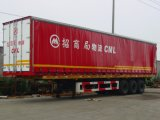 Pallet Curtain Side Van Semi Trailer
