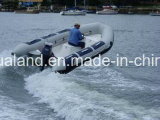 Aqualand 14feet 4.3m River Boat/Rib Boat/Inflatable Fishing Boat (RIB430A)