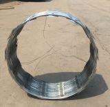 최신 담궈진 직류 전기를 통한 면도칼 가시철사 Cbt65/Factory 공급자