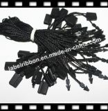 Étiquette en plastique de joint de noir de chaîne de caractères de polyester (ST056)