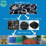Gomma/plastica/legno timpano/della gomma/pneumatico/pellicola/grumi/sacchetti/trinciatrice tessuti enormi del doppio/quattro aste cilindriche