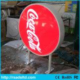 Box Light duplos de plástico Publicidade