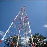 Собственная личность горячего DIP гальванизированная - поддерживая башня Telcom 3 Legged трубчатая стальная