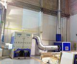 Collettore di polveri file industriale per il sistema dell'aspirazione delle polveri nei progetti