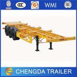 Semi Aanhangwagen van de Chassis van de Container van het Skelet van het nut de Skeletachtige