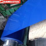 Bobine en acier enduite d'une première couche de peinture de Galvalume pour le matériau de construction