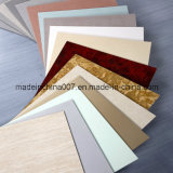 Tarjeta ahorro de energía coloreada del cemento de la fibra