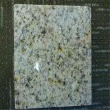 中国の水晶黄色い花こう岩、黄色い花こう岩G682