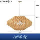 Светильник модельного деревянного обломока конструктора привесной с хорошим ценой