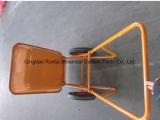 Carrinho de mão de roda espaçoso do preço de fábrica de aço