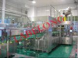 Máquina de relleno y que capsula de las bebidas del fregado de las botellas carbónico automático