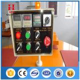 La machine automatique de presse de la chaleur fonctionne de la voie de Roting de quatre stations