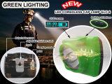lampada capa del minatore antidetonante di forte luminosità 15000lux con lo schermo di OLED