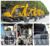 Nueva máquina caliente de los excavadores de la correa eslabonada con velocidad