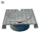 Sperrung von Casting Iron Square Triangular für Watertight Manhole Cover und Gratings En124