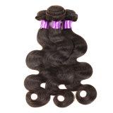 Peruanische Jungfrau-Haar-Karosserien-Wellen-natürliches schwarzes Menschenhaar der Jungfrau-Haar-Karosserien-Wellen-Haar-Webart-Bündel-3PCS des Lot-7A unverarbeitete Pervian