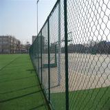 Загородка звена цепи ячеистой сети нержавеющей стали PVC ISO9001 Кита покрытая