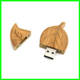 Lecteur flash USB en bois de lame de carte mémoire Memory Stick d'USB 2.0