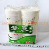 Automático suave paquete higiénico rollo de papel de embalaje de la máquina