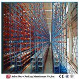O armazém usou a cremalheira resistente do armazenamento do equipamento do metal da vertente para a venda