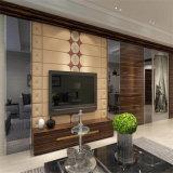 panneau décoratif Roolls doux de mur 3D de panneau de décoration de mur de maison acoustique de panneau