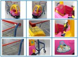 Supermarché Kids Kids Plastic Shopping Trolley (HBE-K-1)