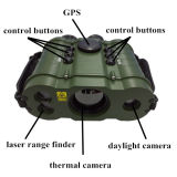 Binóculos militares com GPS, cartão da visão noturna do SD, bateria, compasso