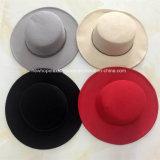 Мода Поддельные Шерсть Фальт-Top Hat