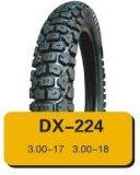 Neumático de la motocicleta de la alta calidad del fabricante de China con el tubo