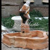 Fontana multicolore Mf-575 del giardino di pietra di marmo del granito