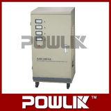 Estabilizador Full-Automatic trifásico da tensão AC de exatidão elevada de Sjw-30kVA